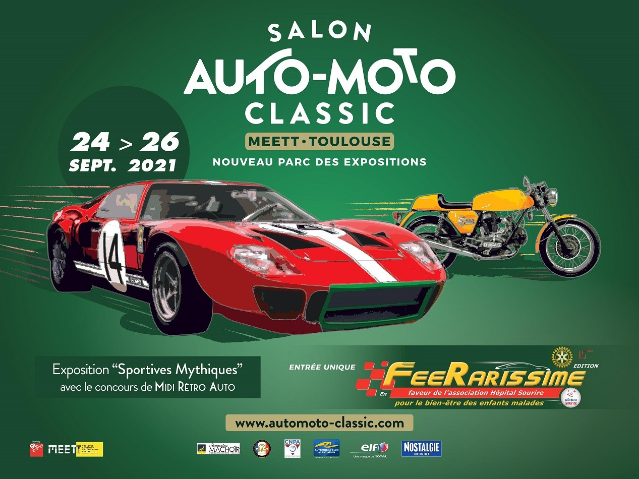 1 salon auto moto classic toulouse